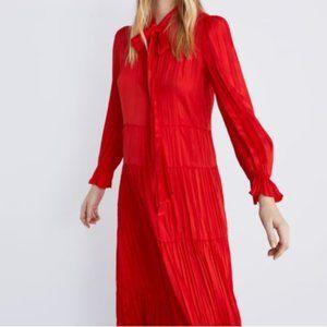 Zara Red Dress NWT